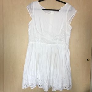 Fun & Flirt White Sun Dress